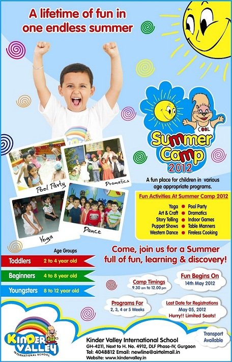 Kinder Vally summer Camp