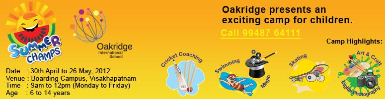 Oakridge Summer Camp - Vizag
